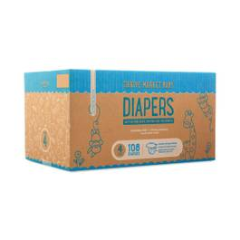 Size 4 Diapers (22-37 lbs)