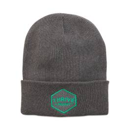 Thrive Market Beanie - Green Icon