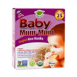 Baby Mum-Mum Organic Original Rice Biscuits