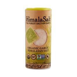 Organic Garlic Himalayan Sea Salt