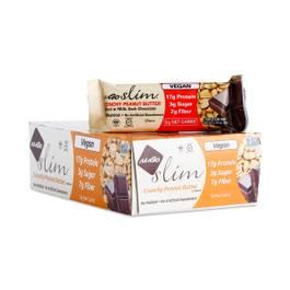 Slim Crunchy Peanut Butter Protein Bars