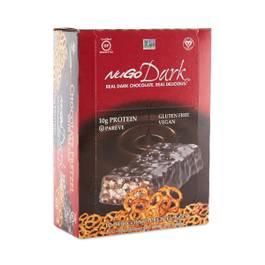 Dark Chocolate Pretzel Protein Bars