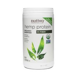 Organic Hemp Protein, Hi Fiber