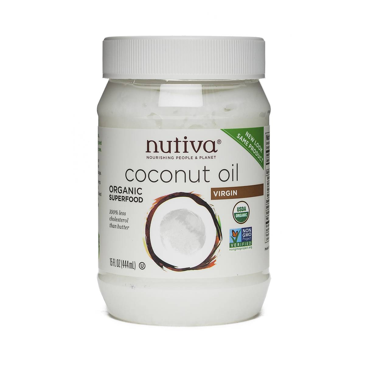 Nutiva Organic Virgin Coconut Oil - Thrive Market