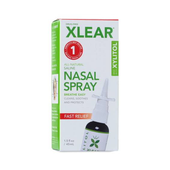 Xylitol Sinus Nasal Spray By Xlear Thrive Market