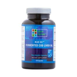 Blue Ice Fermented Cod Liver Oil Capsules