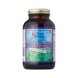 Blue Ice Royal Butter Oil / Fermented Cod Liver Oil Blend - Non-Flavored