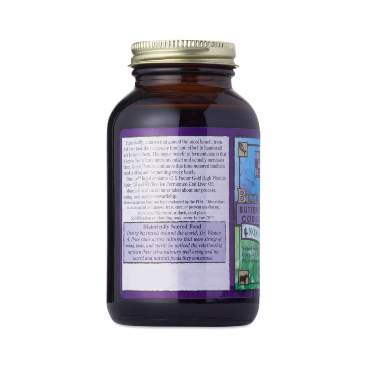 Non Flavored Royal Butter Fermented Cod Liver Oil