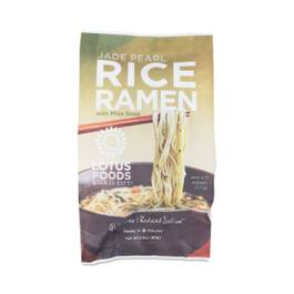 Organic Jade Pearl Rice Ramen with Miso Soup