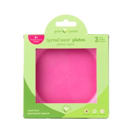 Sprout Ware Plate - Pink