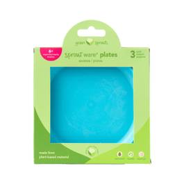 Sprout Ware Plate - Aqua