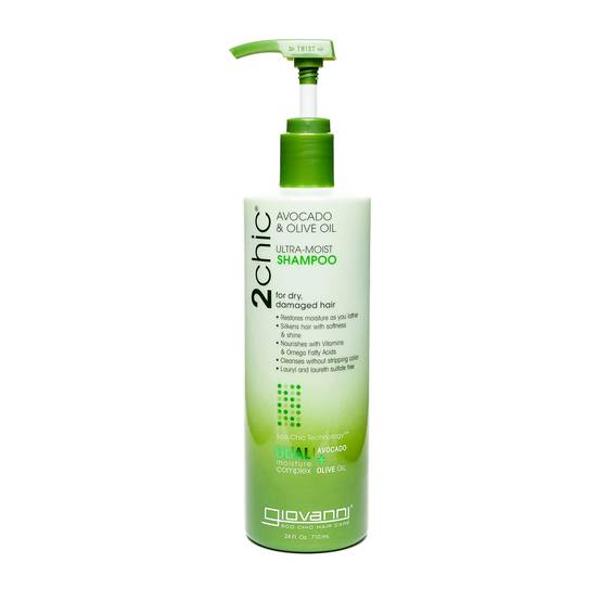 Avocado and Olive Oil Shampoo