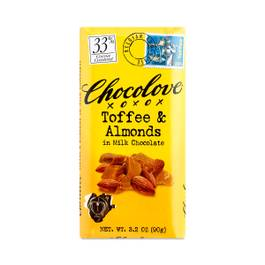 Toffee & Almonds Milk Chocolate