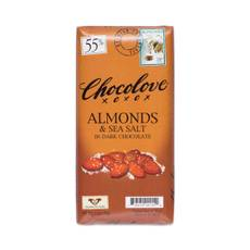 Almonds & Sea Salt Dark Chocolate - 55% Cocoa