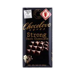 Strong Dark Chocolate Bar 70% Cacao