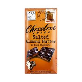 Salted Almond Butter Dark Chocolate 55% Cacao