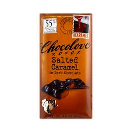 Salted Caramel Chocolate Bar 55% Cacao