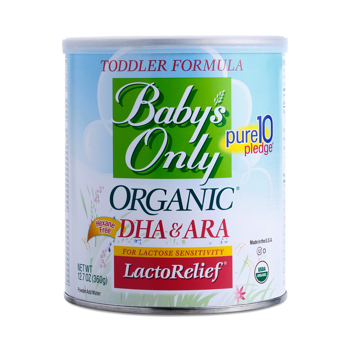 Lactorelief Toddler Formula By Baby S Only Organic