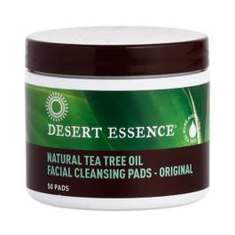 Tea Tree Oil Facial Cleansing Pads