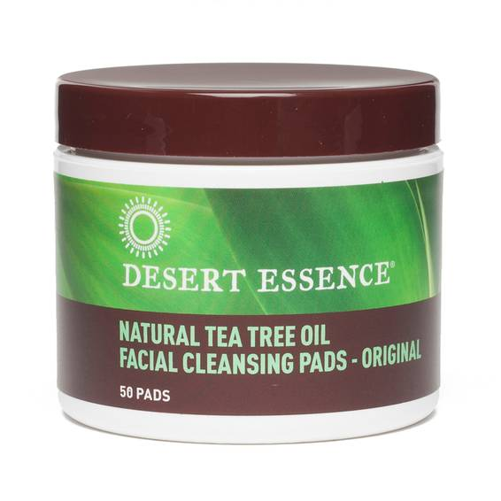 Tea Tree Oil Natural Cleansing Pads