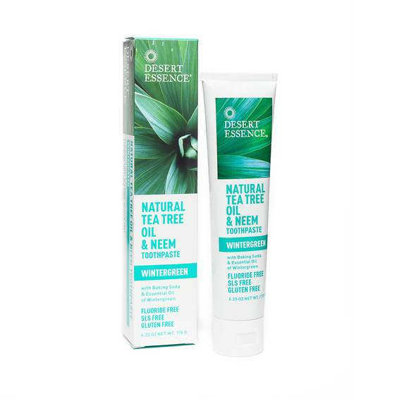 Neem Toothpaste, Tea Tree Oil & Wintergreen
