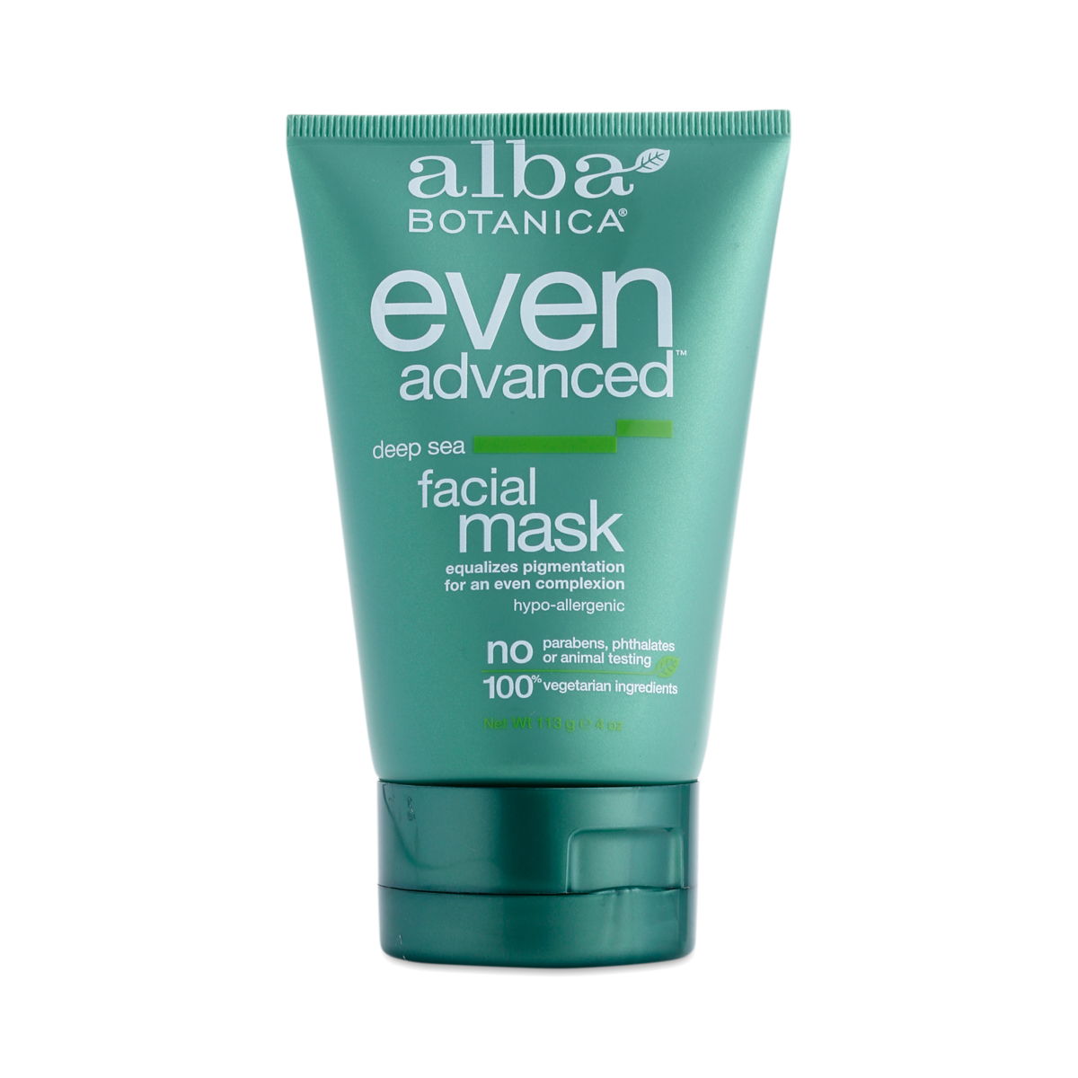 Alba Advanced Deep Sea Facial Mask - 4 oz. by Alba Botanica (pack of 4) Yes To Cucumbers Soothing Hypoallergenic Facial Wipes, 10 ct (Pack of 4) + Schick Slim Twin ST for Dry Skin