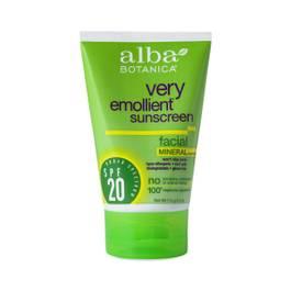 Very Emollient Facial Sunscreen - SPF 20