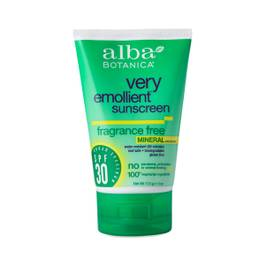 Very Emollient Mineral Protection Sunblock - Fragrance Free 30 SPF