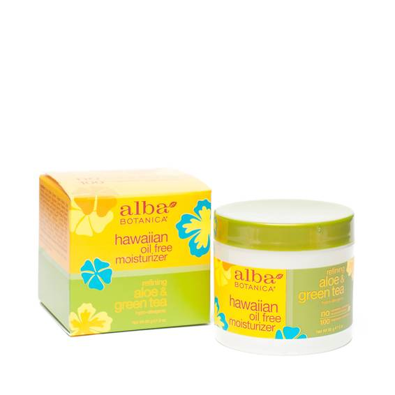 Hawaiian Aloe & Green Tea Oil Free Moisturizer
