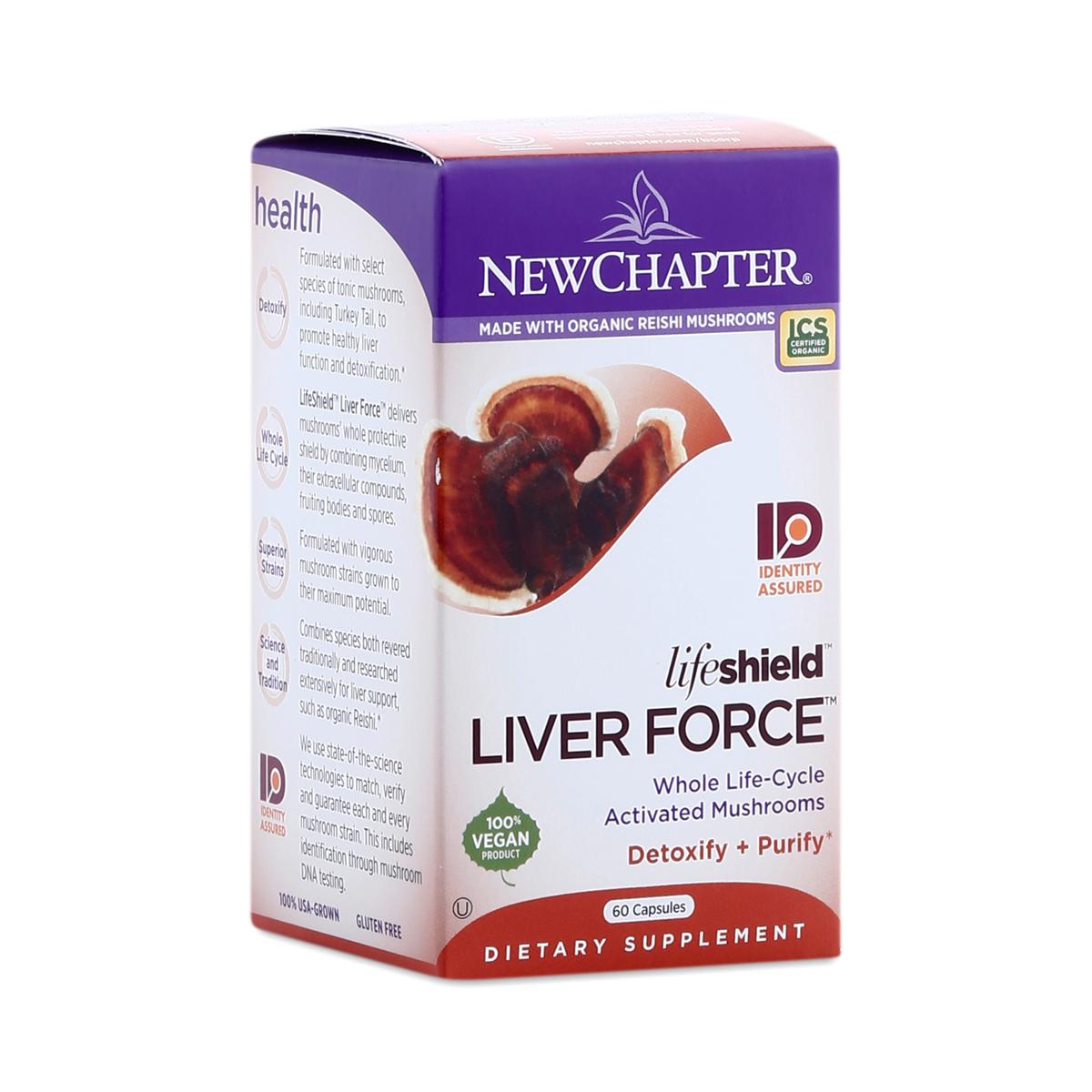 LifeShield Mushroom Liver Force
