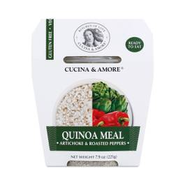 Artichoke & Roasted Peppers Quinoa Meal