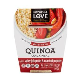 Spicy Jalapeno & Roasted Peppers Quinoa Meal