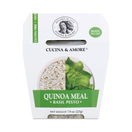 Basil Pesto Quinoa Meal