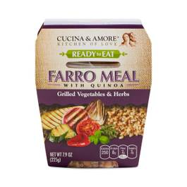 Grilled Vegetables & Herbs Farro Quinoa Meal