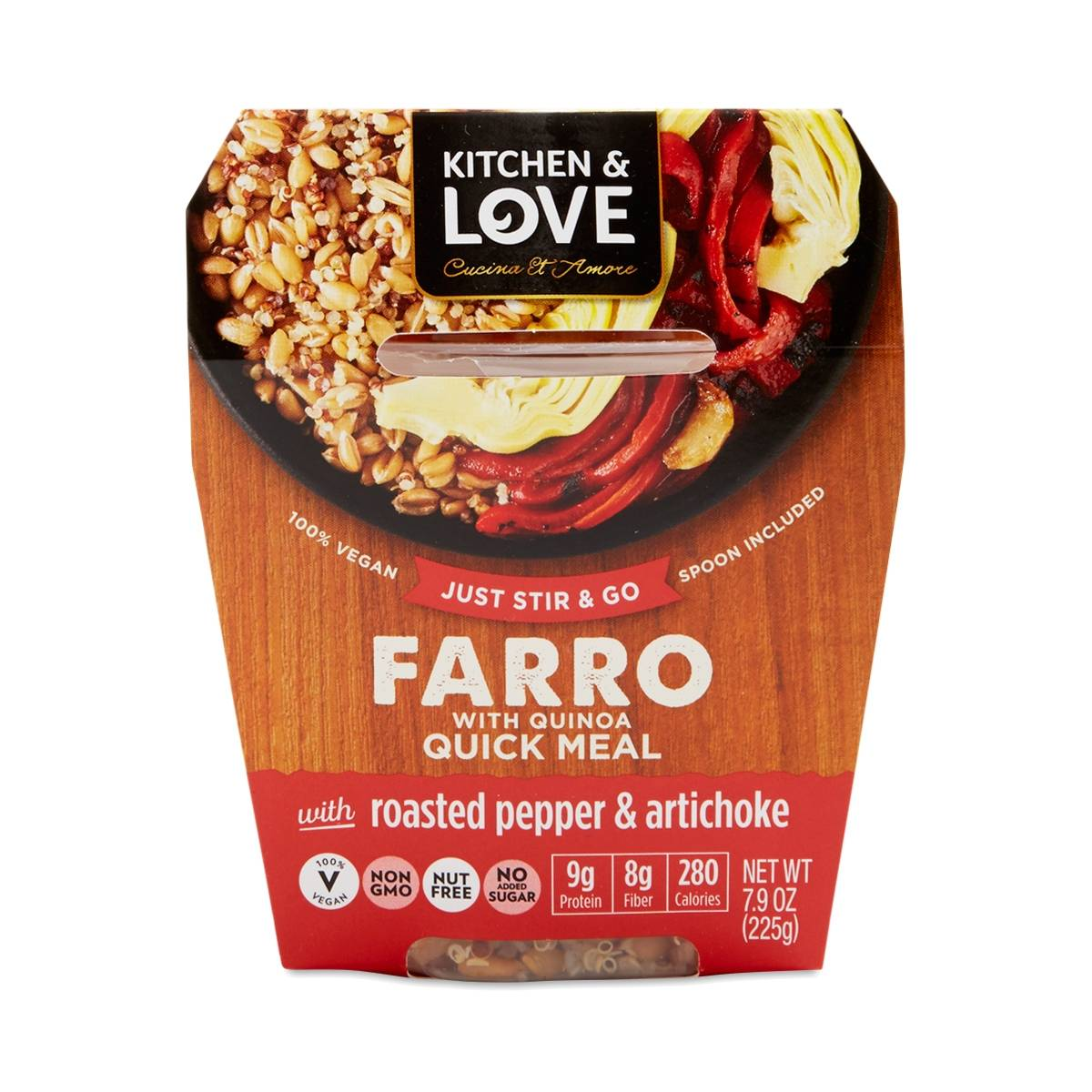 Roasted Pepper & Artichoke Farro Quinoa Meal - Thrive Market