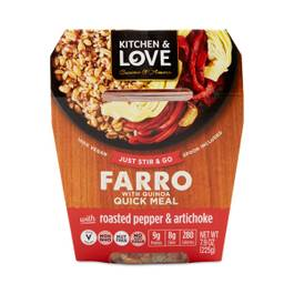 Roasted Pepper & Artichoke Farro Quinoa Meal