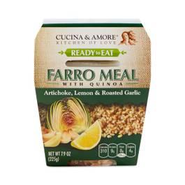 Artichoke Lemon & Roasted Garlic Farro Quinoa Meal