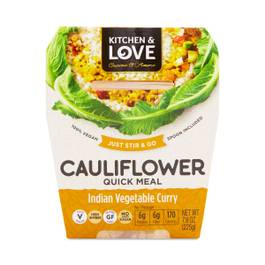 Indian Vegetable Curry Cauliflower Meal