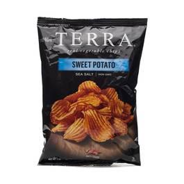 Sweet Potato Sea Salt Chips - Crinkles