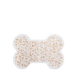 Mini Bone Natural Recycled Rubber Pet Placemat