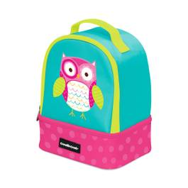 Owl Double Decker Lunch Box
