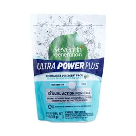 Ultra Power Plus Dishwashing Detergent Packs