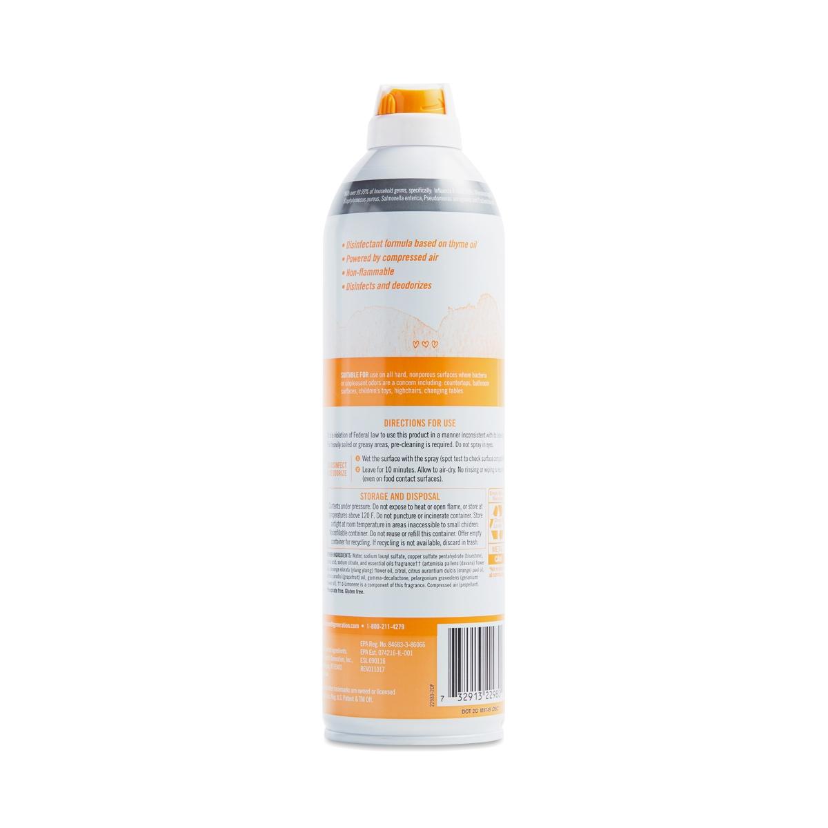 Fresh Citrus Air Care Disinfectant Spray