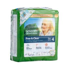 Baby Diapers, Size 4 (22-37 lbs)