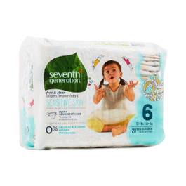Baby Diapers, Size 6 (35+ lbs)