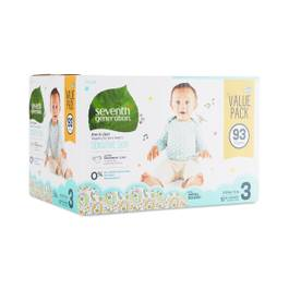 Baby Diapers, Size 3 (16-28 lbs)