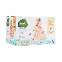 Baby Diapers, Size 4 (22-32 lbs)