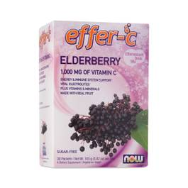Effer-C Elderberry Vitamin C Drink Mix