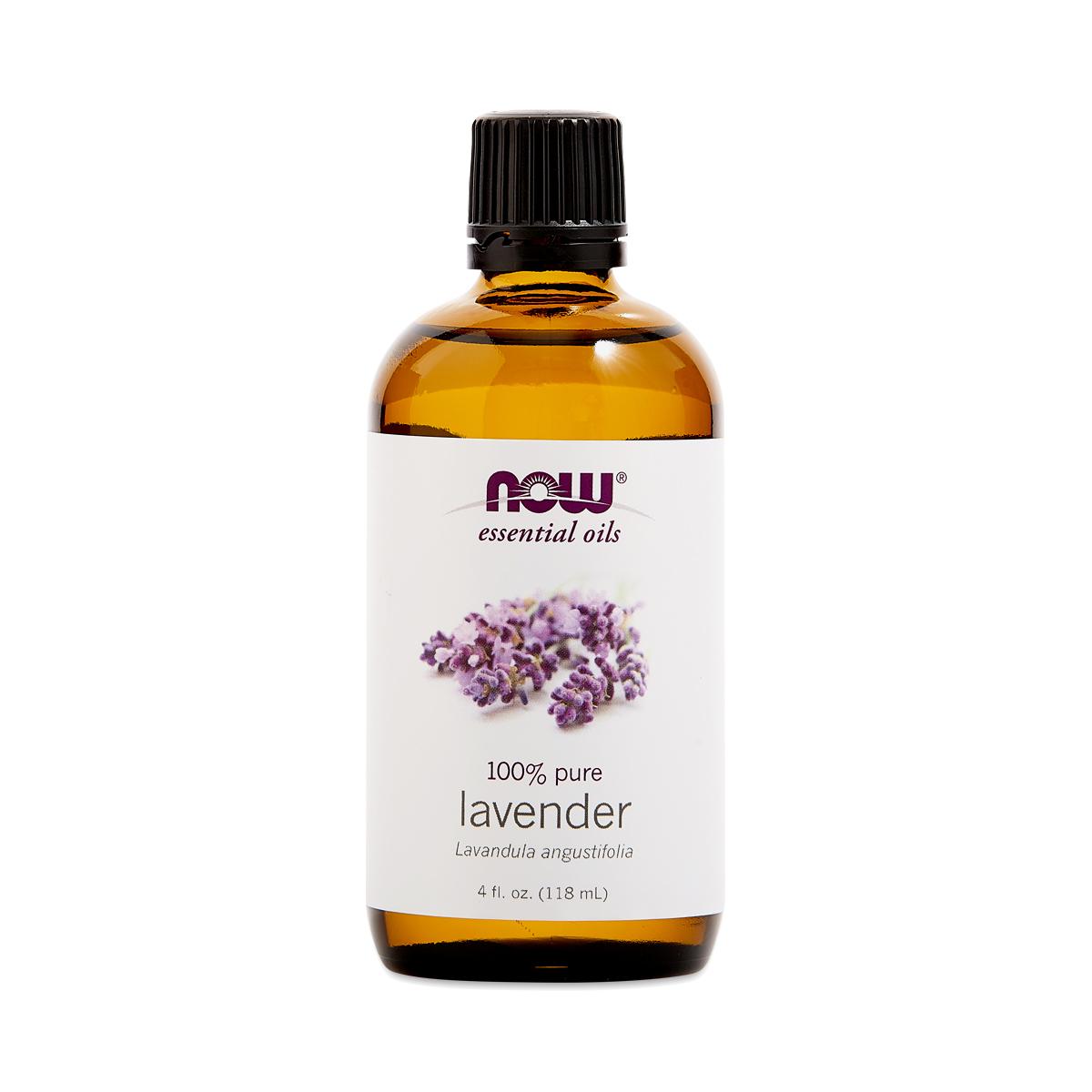 Now Foods Lavender Essential Oil 4 fl oz bottle