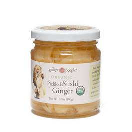 Organic Pickled Sushi Ginger